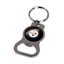 Non Metal Nfl Pittsburgh Steelers Bottle Opener Key Ring By Rico Industries (Len - $11.62