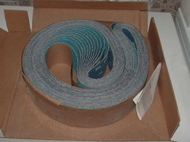 "12 Sanding Belts Merit Resin Cloth 3"" x 78 3/4"" 24 Grit 66623354278 SY69... - $85.00"