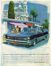 Vintage1964 Magazine Ad Pontiac Your Pulse Rate Goes Up Whenever you See Pontiac - $5.93