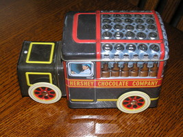 Hershey's Vehicle Series Canister #1 Milk Truck Metal Advertising Contai... - $6.97