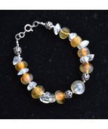 Statement Gemstone Bracelet, sterling bracelet, designer handmade bracel... - $48.00