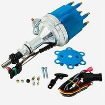 Pro Series R2R Distributor for Ford I6 Engine, 5/16 Hex Shaft, Blue Cap image 4