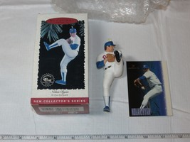1996 Hallmark Keepsake Ornament MLB Nolan Ryan Texas Rangers At the Ball... - $19.05
