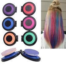 6 Colors Powder Hair Chalk Temporary Hair Dye Set - $14.98