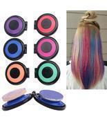 6 Colors Powder Hair Chalk Temporary Hair Dye Set - £10.75 GBP