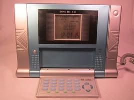 TELEPHONE Digital DONG BEI D-83 Clock, Calendar, Desk PHONE [Y94D] - $57.60