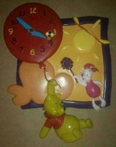Extremely Rare! Walt Disney Winnie the Pooh Flying with Piglet Wall Clock - $247.50