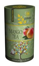 Lions Tea Mango, Pure Ceylon Black Tea 15 Pyramid Tea Bags - $8.75