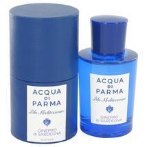 Blu Mediterraneo Ginepro di Sardegna by Acqua Di Parma Eau De Toilette S... - $93.60+