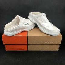 Nike Gazette Womens White Tyvek Slip On Athletic Mule Shoe Size 6 DS Vin... - $56.10