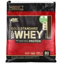 Optimum Nutrition Gold Standard 100% Whey Protein, 80 Servings (Chocolate) - $56.88