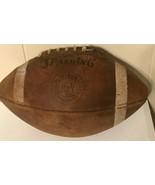 Spalding Official Intercollegiate J5V Football Vintage - $49.46