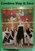 Sex And The City - The Complete Fouth Season (4) / DVD / Build -A- Lot &... - $1.95