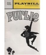 "Winter Garden Theatre Playbill ""Purple"" December 1970 Philip Rose - $3.00"