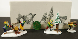 Dept 56 Heritage Village WOODSMEN ELVES 5630-8 New in Box - $14.99