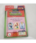 LeapPad Pre Reading Disney Princess Stories Pre K-K Leap Start - $18.07