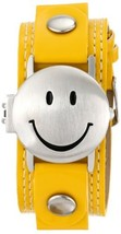 Frenzy Kids' FR282 Smiley Face Analog Yellow Strap Watch - $19.65
