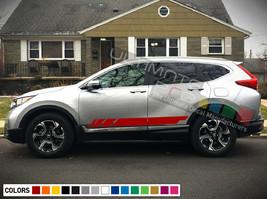 Sticker Decal Side Racing Stripes for Honda CRV Fender Windshield Headlight LED - $39.15+