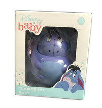 New Disney Winnie the Pooh Eeyore Tumbler Toy Baby Gift Stocking Stuffer - $12.16