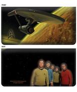Star Trek Classic Leather Checkbook Cover - $20.78