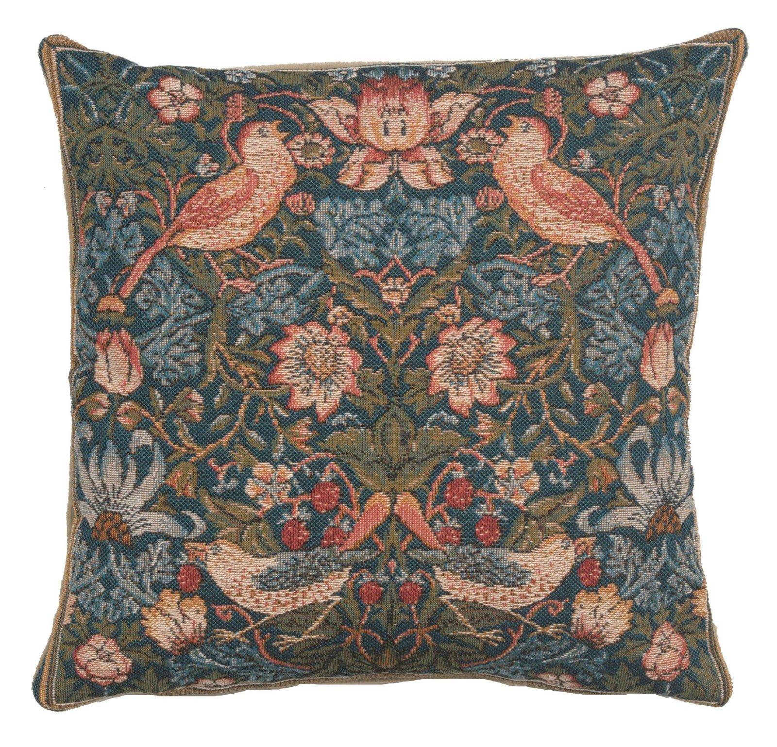 Cushion Birds Face to Face European Cushion