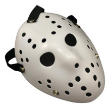 1pc Jason Voorhees Friday the 13th Horror Movie Hockey Mask Scary Hallow... - £4.31 GBP