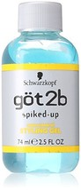 Got2b Spiked-Up Max-Control Styling Gel for Unisex, 2.5 Ounce - $4.93