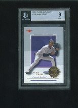 Juan URIBE 2001 Fleer Authority Pack Issued BGS 9 MINT Graded Card 1023/... - $6.99