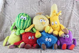 Goodness Gang Fruit And Veg Garlic strawberry Mushroom Soft Plush Toys - $9.12 CAD+