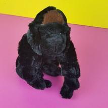 Ganz Webkinz Plush Silverback Gorilla No Code HM335 Black Silver Monkey ... - $6.43