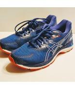 ASICS Men's Gel-Nimbus 20 in BLUE PRINT / RACE BLUE Sz 9 1/2 NEW WITH BOX  - $110.00