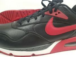 New Nike Air MAx Correlate Leather Running Black 518292 060 Mens Shoes 13 Rare image 10