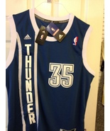 Kevin Durant Replica Navy Blue Swingman Jersey - $50.00