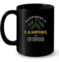 Happiness is Camping in Georgia Ceramic Mug - $13.99+