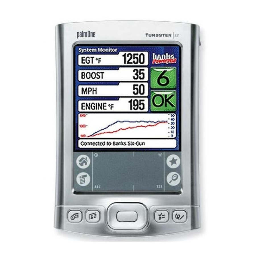 Banks PowerPDA for Six-Gun & OttoMind6 Tuner - Power PDA with New Battery - USA