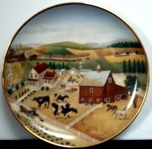 Franklin Mint 'Country Journeys' Lowell Herrero Ltd. Edition Plate - $9.90