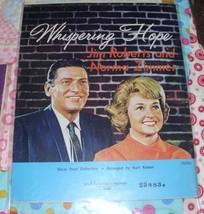 1970 Spiritual Sheet Music Whispering Hope & More Jim Roberts Norma Zimm... - $9.79