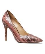 MICHAEL Michael Kors Claire Rose Snakeskin Pump Shoes Size 7 MSRP: $185.00 - $148.49