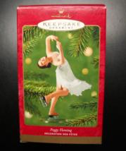Hallmark Keepsake Christmas Ornament 2001 Peggy Fleming 1968 Olympics Boxed - $7.99