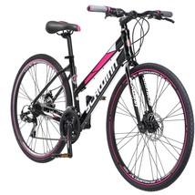 Outdoor Women's Beach Bike 700c Schwinn Kempo Black Sports Bicycle Durable Steel - $542.54