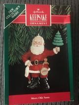 Hallmark Ornament Merry Olde Santa Vintage 1st in Series 1990 QX473-6 Ch... - $3.95