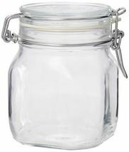 Glass Jar Canister 25-1/4-Ounce Shock Resistant Coffee Sugar Snacks Keep... - $27.29