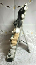 """Vintage 1999 Sculpted Cats Black and White Frame-ology Holds a 4""""x6"""" Photo image 4"""