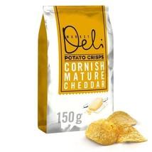 Walkers Market Deli Mature Cheddar Crisps 150g - $6.93