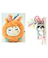 Bunny Bundle Lumo Stars Pupu Rabbit Hare Keychain Manhattan Toy Squeezme... - $14.84