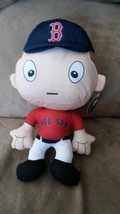 "BOSTON RED SOX BIG HEAD PLUSH PLAYER New 2016 MLB Licensed 12"" RALLYMEN - $11.99"