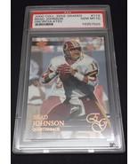 2000 Collector's Edge Brad Johnson #113 PSA Gem Mint 10 Uncirculated Red... - $8.42