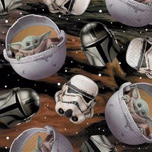 Star Wars Mandalorian The Child Baby Yoda Lunch Napkins 16 Count Birthday Party - $5.89