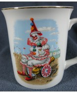 World of Clowns Chuckles Keeps His Cool Coffee Cup Mug Porcelain Ron Lee... - $17.95