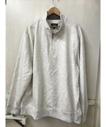 LEE Sterling Heather Gray 1/4 Zip Sweatshirt  Size 2XL NWT - $29.95